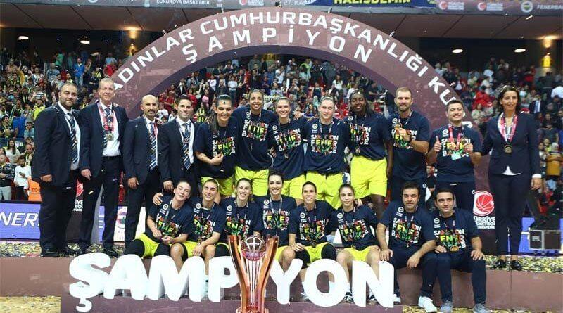 27. Kadınlar Cumhurbaşkanlığı Kupası Fenerbahçe Öznur Kablo'nun