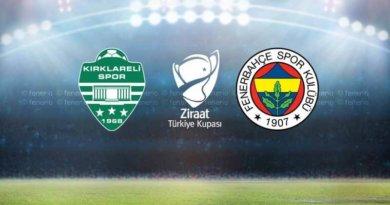 GMG Kırklarelispor - Fenerbahçe