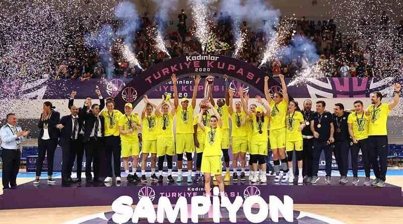Türkiye Kupası Şampiyonu Fenerbahçe Öznur Kablo
