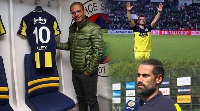 Alex de Souza - Emre Belözoğlu - Volkan Demirel